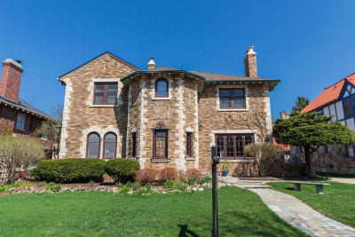 Shorewood Single Family Home Active Contingent With Offer: 3510 N Hackett Ave