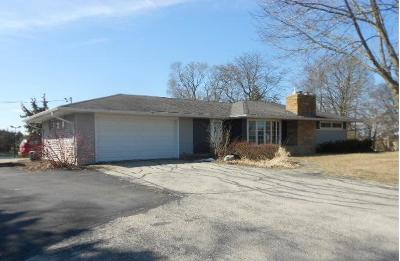 Racine County Single Family Home Active Contingent With Offer: 15125 Washington Ave