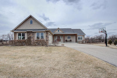 Johnson Creek Single Family Home Active Contingent With Offer: N7823 French Rd