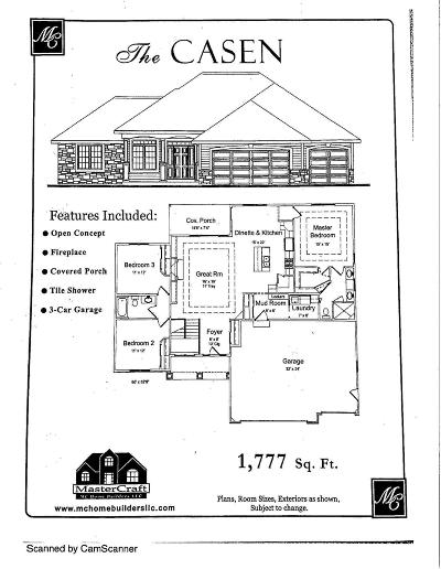 Jefferson County Single Family Home For Sale: Lot #7 Prairie Rd
