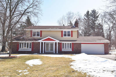 Menomonee Falls Single Family Home Active Contingent With Offer: W140n8416 Lilly Rd