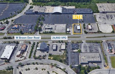 Milwaukee Commercial For Sale: 8311 W Brown Deer Rd