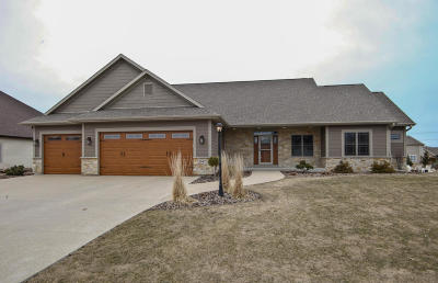 Racine County Single Family Home Active Contingent With Offer: 2047 Settlement Trl