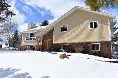 West Bend Single Family Home Active Contingent With Offer: 6089 State Road 144