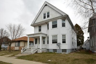 South Milwaukee Two Family Home Active Contingent With Offer: 812 Monroe Ave