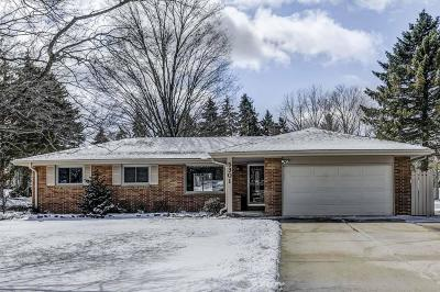 Racine Single Family Home Active Contingent With Offer: 5301 Twin Elms Dr