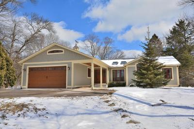 Milwaukee County Single Family Home Active Contingent With Offer: 7220 N Lake Dr