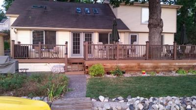 Racine County Single Family Home Active Contingent With Offer: 4137 Riverside Rd