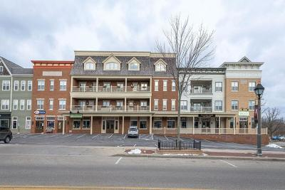 Delafield Condo/Townhouse Active Contingent With Offer: 601 Genesee St #205