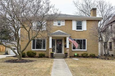 Wauwatosa Single Family Home Active Contingent With Offer: 7823 W Wisconsin Ave