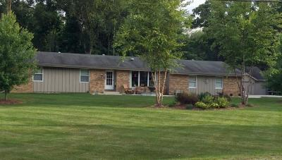 Racine County Single Family Home Active Contingent With Offer: 23423 Church Rd
