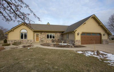 Hartland Single Family Home Active Contingent With Offer: W278n7270 Glacier Pass