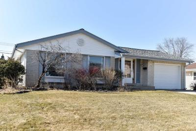 Greenfield Single Family Home Active Contingent With Offer: 4721 W Van Beck Ave