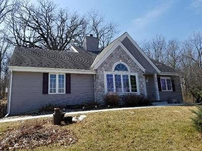 Jefferson County Single Family Home Active Contingent With Offer: W1731 Gopher Hill Rd
