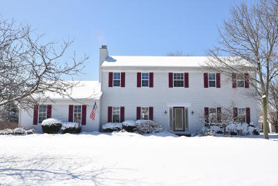 Waukesha County Single Family Home Active Contingent With Offer: W149n7445 Hidden Meadow Dr