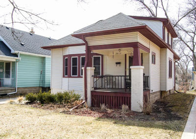 Wauwatosa Single Family Home Active Contingent With Offer: 2015 N 84th St
