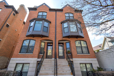 Milwaukee Condo/Townhouse Active Contingent With Offer: 923 E Pearson St