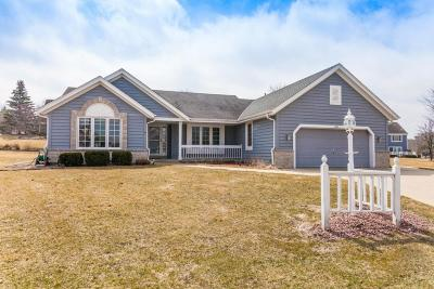 Waukesha Single Family Home Active Contingent With Offer: 1607 Legend Cir