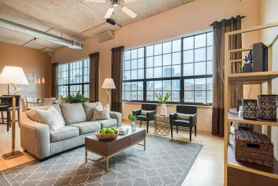 Milwaukee County Condo/Townhouse Active Contingent With Offer: 311 E Erie St #325