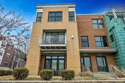 Milwaukee County Condo/Townhouse Active Contingent With Offer: 1805 N Riverwalk Way