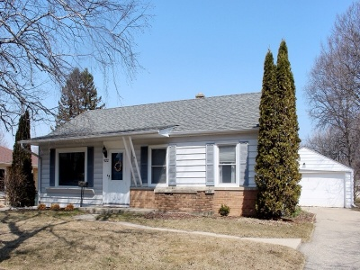 South Milwaukee Single Family Home Active Contingent With Offer: 522 Sycamore Ave