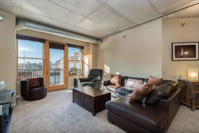 Milwaukee Condo/Townhouse Active Contingent With Offer: 102 N Water St #402