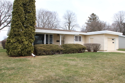 Greendale Single Family Home Active Contingent With Offer: 7212 Earl Ave