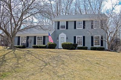 Menomonee Falls Single Family Home Active Contingent With Offer: W160n8225 Old Orchard Ct