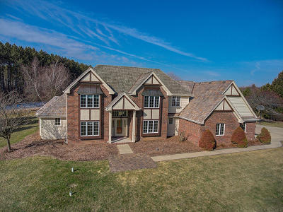 Waukesha County Single Family Home For Sale: N71w29845 Ridgeview Ln