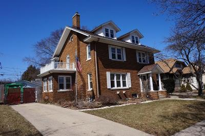 Kenosha Single Family Home For Sale: 7418 Pershing Blvd.