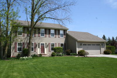 Washington County Single Family Home Active Contingent With Offer: N104w16196 Hedge Way