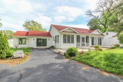 Cambridge Single Family Home Active Contingent With Offer: W9182 Ripley Rd