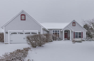 Mukwonago Single Family Home Active Contingent With Offer: 1201 Trail Ct