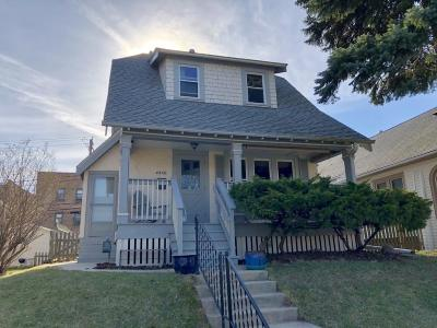 Shorewood Single Family Home Active Contingent With Offer: 4438 N Bartlett Ave