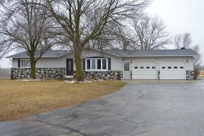 Single Family Home Active Contingent With Offer: 5155 County Road H