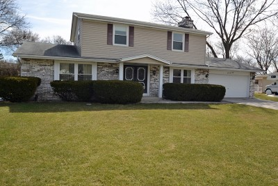 Waukesha County Single Family Home For Sale: 2460 S Brookside Pkwy