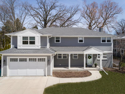 Whitefish Bay Single Family Home Active Contingent With Offer: 5028 N Lake Dr