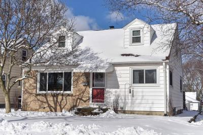 West Allis Single Family Home Active Contingent With Offer: 2931 S 94th St.