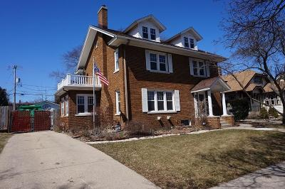Kenosha County Two Family Home For Sale: 7418 Pershing Blvd.