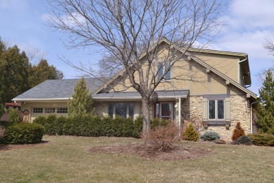 Menomonee Falls Single Family Home Active Contingent With Offer: N87w17262 Schneider Dr