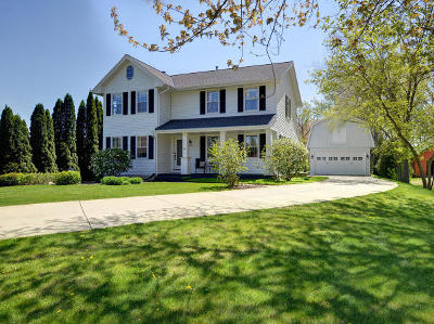 Racine County Single Family Home For Sale: 24301 N Wind Lake Rd