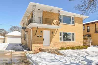 Milwaukee County Two Family Home For Sale: 3236 W Morgan Ave #3238
