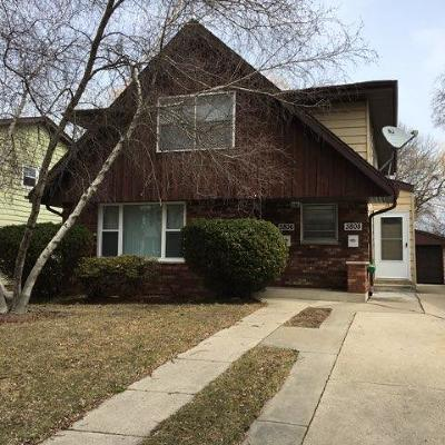 Milwaukee County Two Family Home For Sale: 3806 S Brook Pl