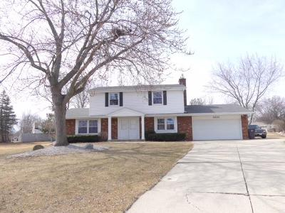 Waukesha County Single Family Home Active Contingent With Offer: 3935 S Camrose Ave