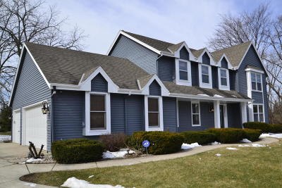 Menomonee Falls Single Family Home Active Contingent With Offer: W155 N5316 Sharptail Ct