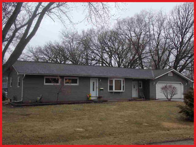 Jefferson County Single Family Home For Sale: W7097 Lee St