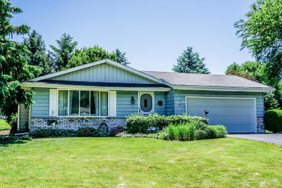 Hartland Single Family Home Active Contingent With Offer: 851 Buckingham Cir