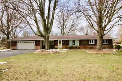 Waukesha County Single Family Home For Sale: W150n5271 Badger Dr