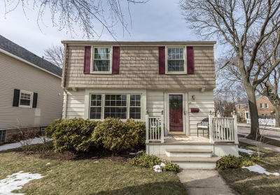 Whitefish Bay Single Family Home Active Contingent With Offer: 100 W Henry Clay St