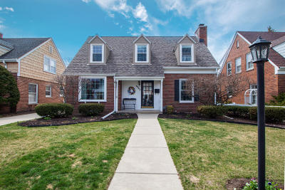 Whitefish Bay Single Family Home Active Contingent With Offer: 4967 N Wildwood Ave
